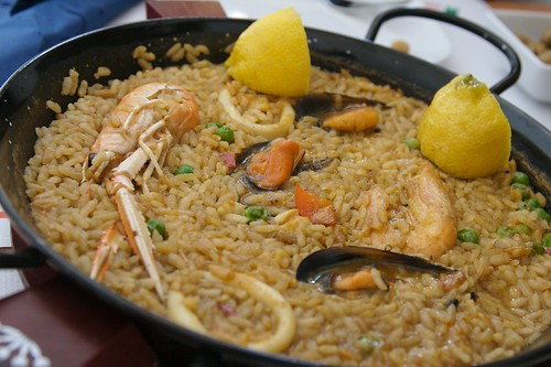 Paella From The Microwave