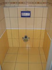 Toilet floor - tiles