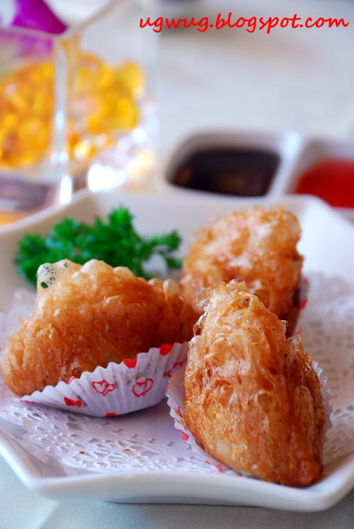 Deep Fried Yam Paste With Chicken