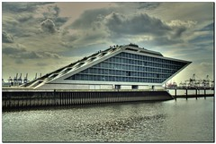 Dockland Hamburg HDR (- Burning Rubber -) Tags: germany harbour hamburg miscellaneous hafen hdr elbe burningrubber dockland blueribbonwinner supershot fineartphotos golddragon mywinners abigfave canoneos400d platinumphoto anawesomeshot impressedbeauty diamondclassphotographer flickrdiamond