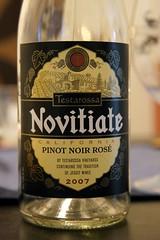 2007 Novitiate Pinot Noir Rosé (Testarossa)