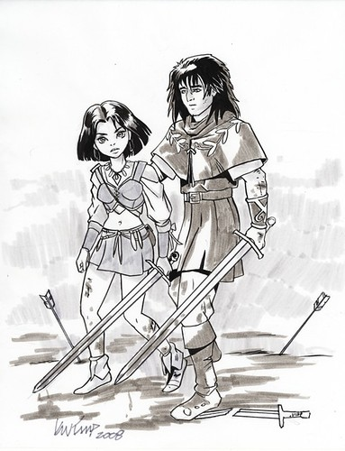 Terri and K