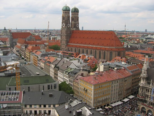 View from St. Peter's, Munich