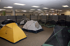 Tents in the Office 1 (TinyTall) Tags c&ing corporate tents office cubicle tent & The Worldu0027s newest photos of cubicle and tent - Flickr Hive Mind