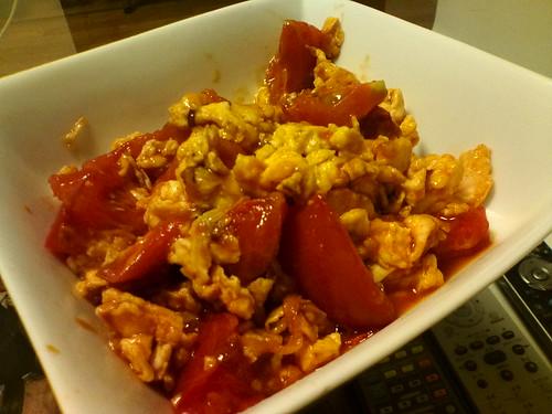 052 卵とトマトの炒め