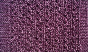 Ravelry: Simple Knitted Lace Scarf pattern by Alissa Barton