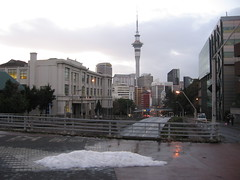 Auckland im Winter