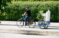Ikea bike and trailer, Velorbis