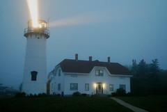 Chatham Light (sarbeargv) Tags: blue light lighthouse capecod chatham 55200mm nikond60