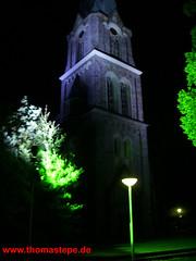 Alexanderkirche in Wallenhorst bei Nacht (Thomas Tepe) Tags: church licht nacht kirche alexander dunkel beleuchtung wallenhorst alexanderkirche