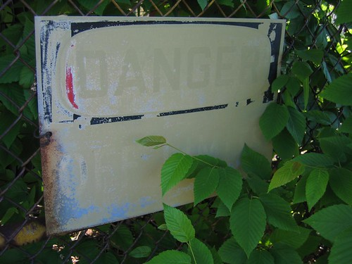 Danger - Off Limits sign
