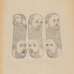 III (pearpicker.) Tags: portrait people illustration beard head drawing ugly