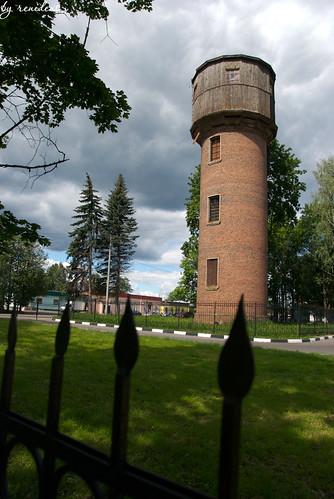 water tower in Fryanovo