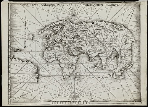 Orbis typus uniuersalis iuxta hydrographorum traditionem by Norman B. Leventhal Map Center at the BPL