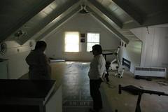 Shuffleboard room