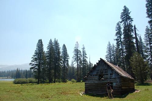 Hiking near Lake Alpine
