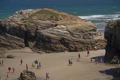 Playa As Catedrais (la nena asturiana) Tags: espaa spain playa galicia lugo ascatedrais