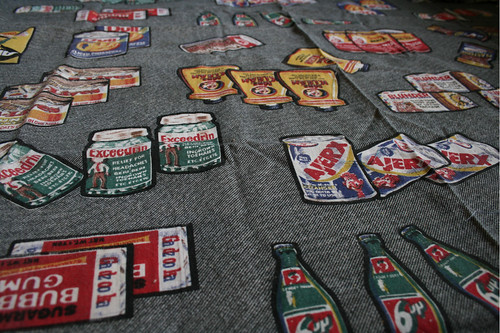 Wacky Packages Fabric