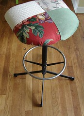 stool after (stinkycretingurl) Tags: thrift thriftstore recycle resurrection redo thriftstoremakeover