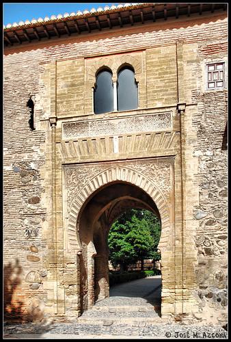 Granada Puerta del Vino Parte Exterior