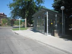 NDSU bus shelter