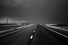 On the Road. (The Vision Beautiful) Tags: roadtrip ontheroad jackkerouac stormclouds westward openspaces familiarplaces texastocolorado
