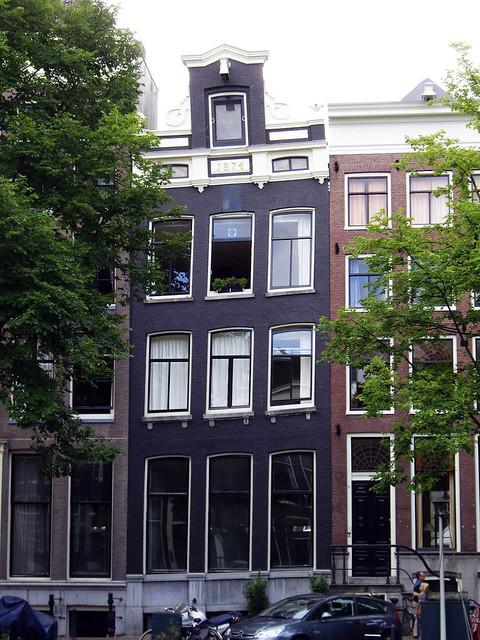 Tipica abitazione di Amsterdam...