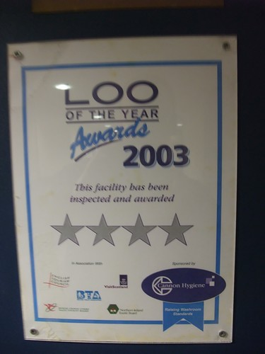 Loo of the year 2003
