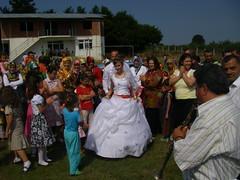 The bride!