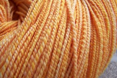 DC Sunrise fingering yarn closeup