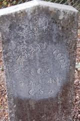 Grave of Nathanial Callaway Todd