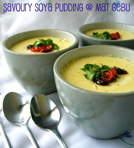 Savoury Soya Pudding