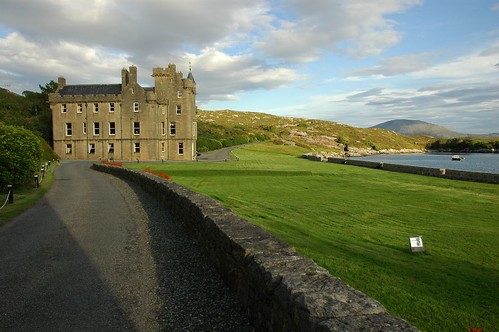 Abhainnsuidhe Castle from the west