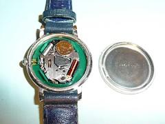 腕時計の電池交換 写真