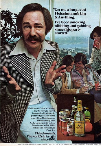 1977 Newsweek Gin And Anything