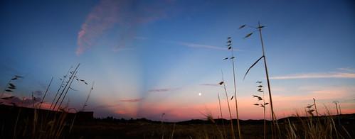 Anticrepuscular Rays Panorama