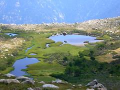 Le petit lac de Rina