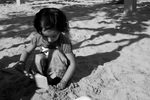 13/365: An'amta Playing in the Sand