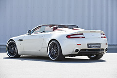 Hamann Aston Martin V8 Vantage convertible pics