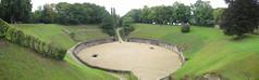 Roman Amphitheatre At Trier (Luis Alberto Cantu) Tags: germany trier romanamphitheatre