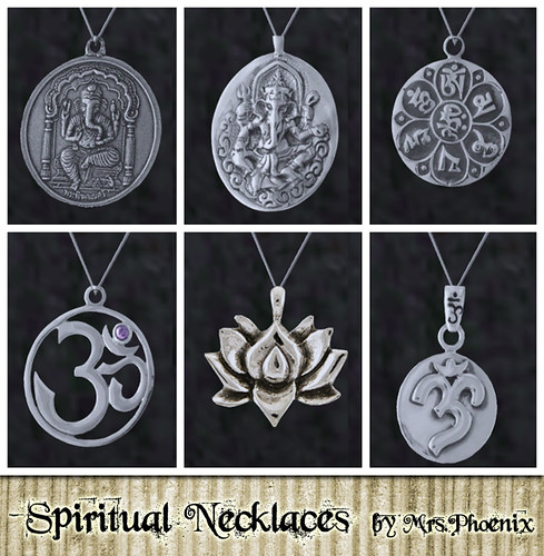 Spiritual Necklaces by Martina Cullen.