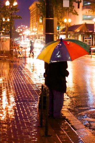October 3rd, 2008 (Rain Returns, Portland Back to Normal)