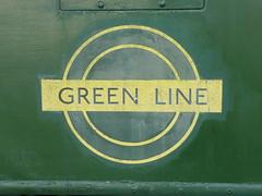 Green Line roundel at the Pump House Museum, Walthamstow (Richard and Gill) Tags: bus green london logo e17 greenline lt walthamstow omnibus walthamforest roundel londontransport tfl londonbuses transportforlondon pumphousemuseum