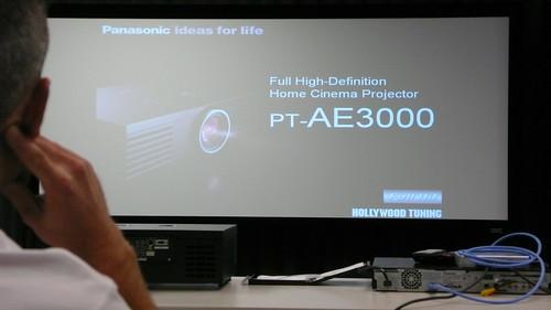 Panasonic PT-AE3000U slide versus AE2000U