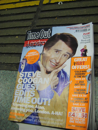 Steve Coogan Guest Edits Time Out