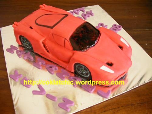 Ferari Enzo Cake
