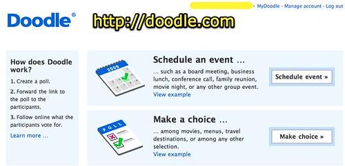 Doodle: Easy Scheduling