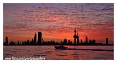 kuwait city (SanforaQ8) Tags: city sunset nikon photographer free kuwait q8 pinepix kuwaittower 18135mm s5pro sanfora thebestofday gnneniyisi nadamarafie