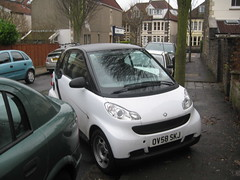 Bad Parking (Z303) Tags: smart car bristol parking coldharbourroad