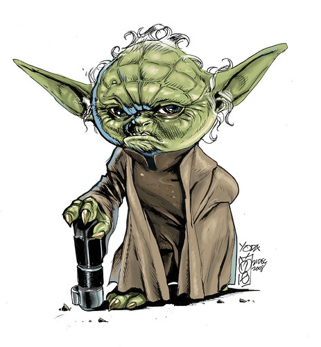 Yoda star wars ROCKETRAYGUN